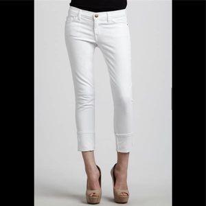 Current Elliott The Beatnik white sz 27 jeans